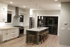 Kitchen remodel for Delray Beach, FL home with island and seating
