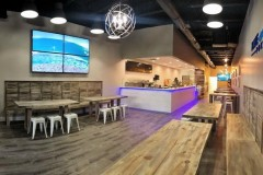 Commercial construction management in Boynton Beach for a modern restaurant