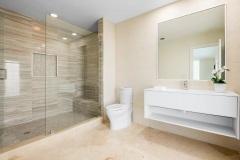 Bath remodel in Boca Raton home