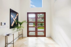 Construction management of entryway and front door in Boynton Beach