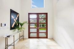 Construction management of entryway and front door in Boynton Beach